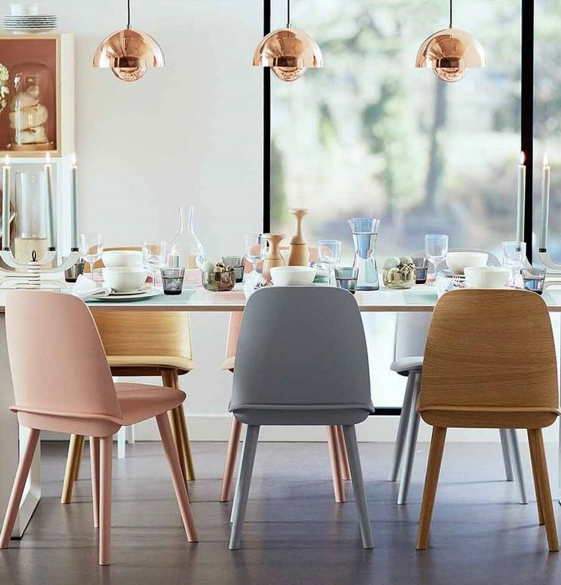 qu'en est-il des chaises autour de la table